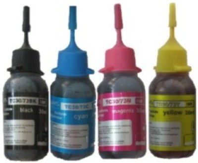 VMS TC30/73 Refillable Ink Set of 120ML Multicolor Ink