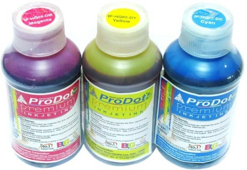 ProDot Inkjet Multi Color Ink(Black, Magenta, Cyan, Yellow)