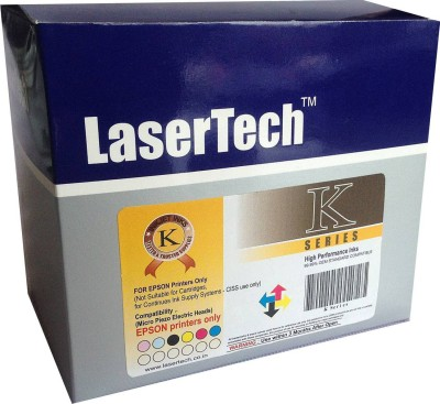 Lasertech K-Series 600 ml ink box for EPSON Multicolor Ink