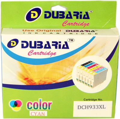 Dubaria 933xl / Cn054aa Cartridge - Hp Compatible For Use In Officejet 6600 6700 6100,276dw Mfp, 8600, 8610, 8620 ,251dw,8100 ,8630 Cyan Ink