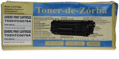 Toner-de-zorba TDZHTC0278A Black Toner