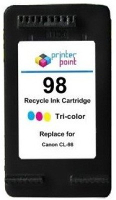 Max 98 Recycle Color Cartridge For Canon Prefilled Tri Color Ink