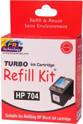 Turbo Ink Refill Kit for HP 704 Cartridge Black Ink