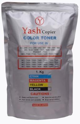 Yash Copier Cyan Color Toner Dc240, Dc242, Dc250, Dc252, Dc260 Cyan Toner