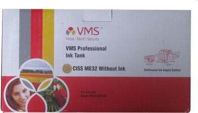 VMS CISS ME32 with Power Cell Without Ink for EPSON ME32 / 320 / 330 Multicolor Ink