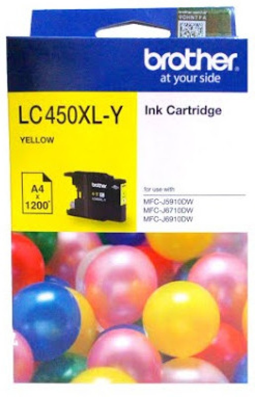 Brother LC450 Single Color Ink(Yellow)