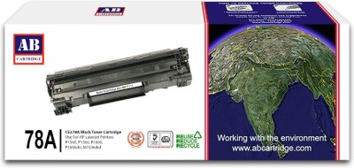 AB Cartridge Compatible 78A / CE278A Cartridge - For Use in HP Laserjet P1560, P1566, P1606, M1536d Black Toner