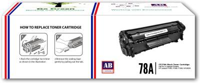 AB Cartridge Compatible 78A / CE278A Cartridge - For Use in HP Laserjet P1560, P1566, P1606, M1536d Single Color Toner(Black)