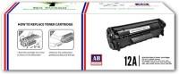 AB Cartridge 12A / Q2612A Cartridge - HP Compatible For Use in Laserjet 1010, 1012, 1015, 1018, 1020, 1022, 1022n, M1005 , M1319f , 3015 , 3020 AIO, 3030 AIO, 3050 AIO, 3050z AIO, 3052 AIO, 3055 AIO Black Toner