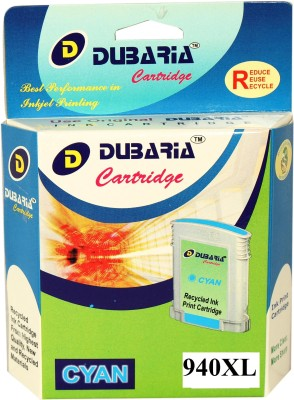 Dubaria 940xl / C4907aa Cartridge - Hp Compatible For Use In Officejet Pro 8000 Enterprise Printer - A811a ,8000 - A809a ,8500 -A909b Cyan Ink