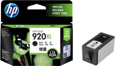 HP 920XL Black Ink Cartridge(Black)