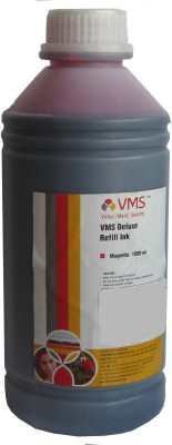 VMS 1 Liter For Epson/Canon/Brother/HP Printers Magenta Ink