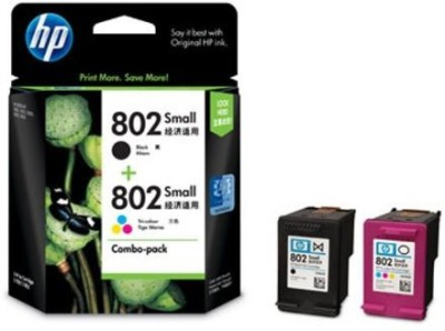 HP HP Ink Cartridge Single Color Ink(Black)
