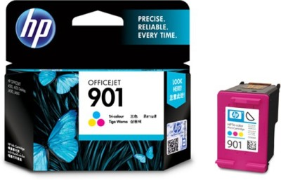 HP 901 Tricolor Ink Cartridger(Black, Magenta, Cyan, Yellow)