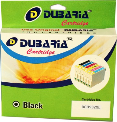 Dubaria 932xl / Cn053aa Cartridge - Hp Compatible For Use In Officejet 6600 6700 6100,276dw Mfp, 8600, 8610, 8620 ,251dw,8100 ,8630 Black Ink
