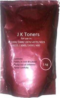 J K Toners Ir 400,3300,3570,4570,6570,5000,6000 Copier,Super Dark,1 Kg Pack Black Toner