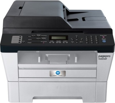 Konica Minolta Pagepro 1590MF Multi function Laser Printer with Black Toner