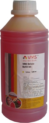 VMS 1 Liter For Epson/Canon/Brother/HP Printers Yellow Ink