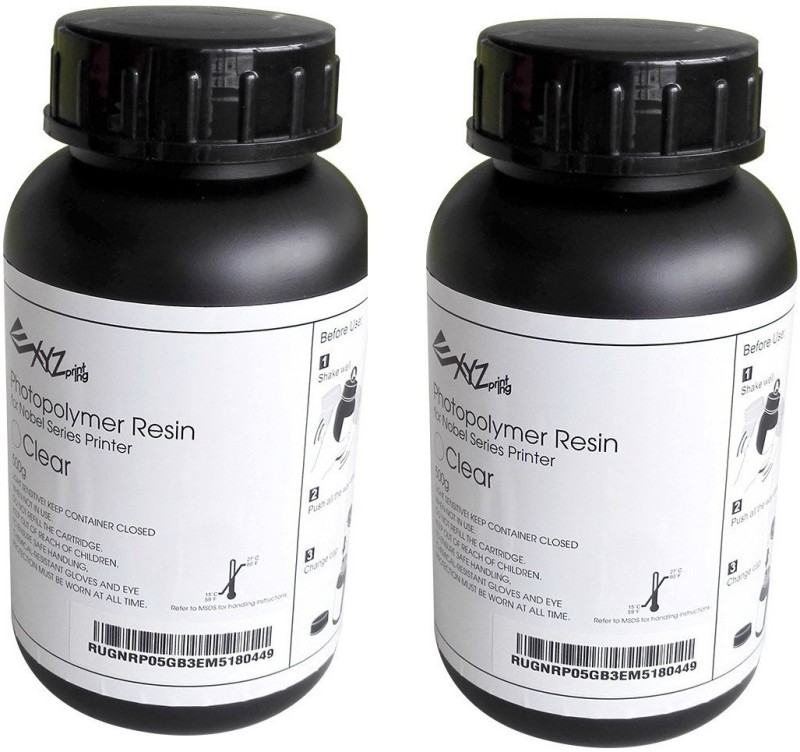 XYZprinting Photopolymer Resin for 3D Printing Single Color Toner(Grey)