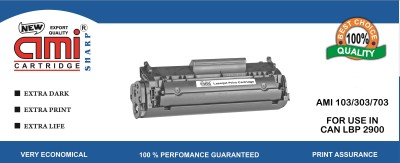 Ami 103/303/703 Compataible Toner for use in Canon LBP 2900 Black Toner