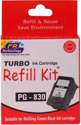 Turbo Ink Refill Kit For Canon Pg 830 Cartridge Black Ink