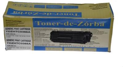 Toner-de-Zorba TDZHTC0388A Black Toner