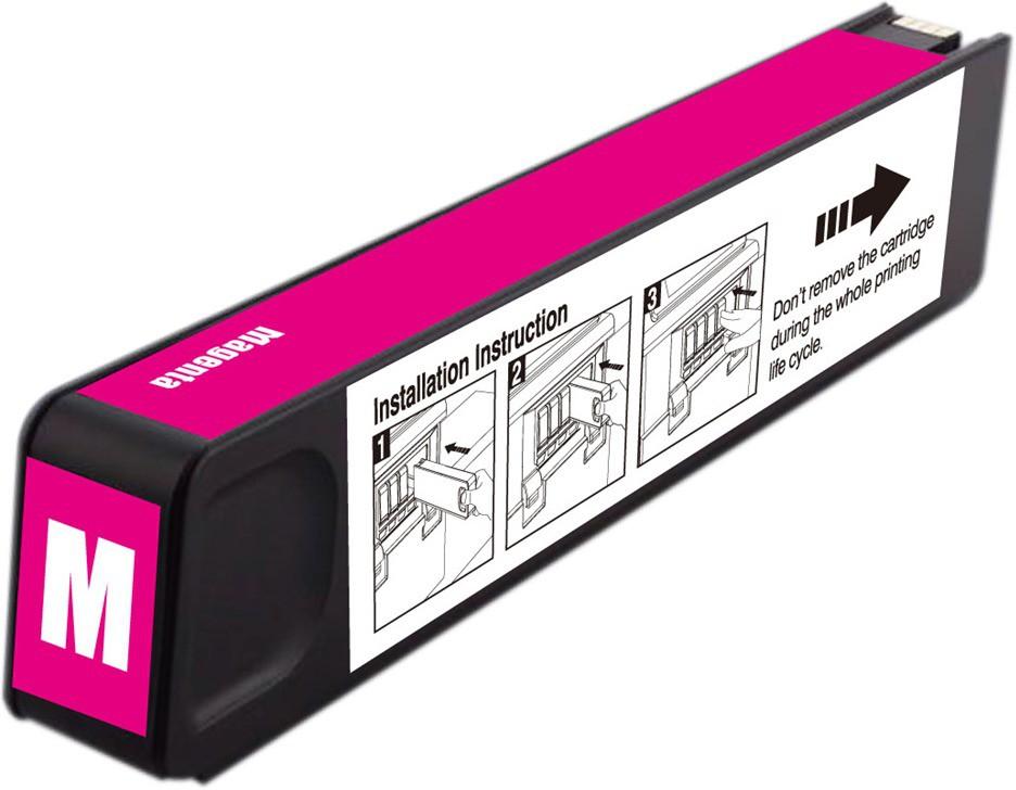 Dubaria 971 XL Magenta Ink Cartridge Compatible For HP 971 XL Magenta Ink Cartridge For Use In OfficeJet Pro X476dn MFP, X476dw MFP, X576dn MFP, X576dw MFP, X451dn, X451dw, X551dw Printers Single Color Ink(Magenta)