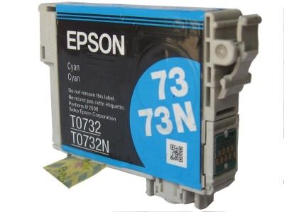 Epson Cartridge 73N Original Cyan Ink