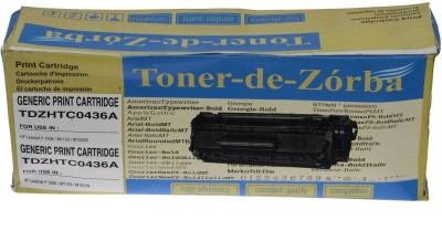 Toner-de-zorba TDZHTC0436A Black Toner