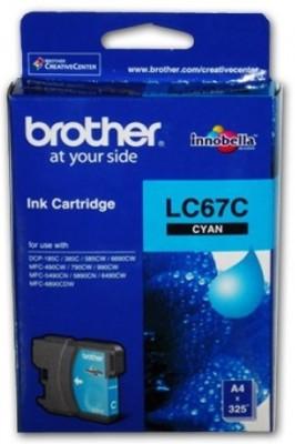 Brother LC67 Cartridge Original Cyan Ink