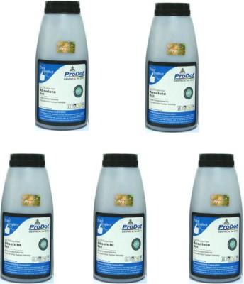 ProDot Laserjet Dry Ink Powder Set of 5 Black Toner