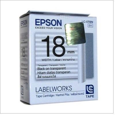 Epson 18mm Black/Label Work White Toner
