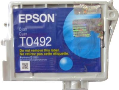 Epson Cartridge T0492 Original Cyan Ink