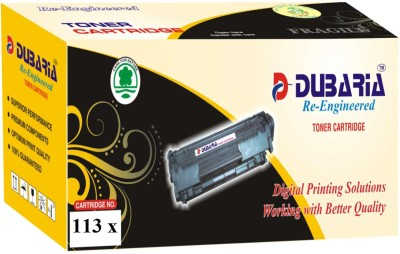 Dubaria 113 X / 2MMJP Cartridge - Dell Compatible For Use In 1130, 1130n, 1133 1135n Black Toner