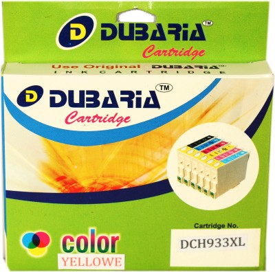 Dubaria 933xl / Cn056aa Cartridge - Hp Compatible For Use In Officejet 6600 6700 6100,276dw Mfp, 8600, 8610, 8620 ,251dw,8100 ,8630 Yellow Ink