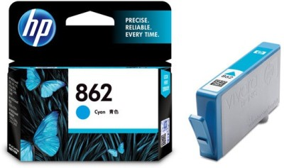 HP 862 Cyan Ink Cartridge(Cyan)
