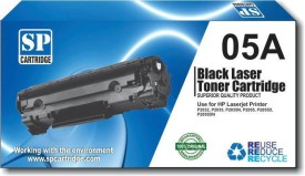 SP CARTRIDGE HP 05A Compatible for HP Laser jet P2032, P2035, P2035n, P2055, P2055d, P2055dn, P2055x Black Toner