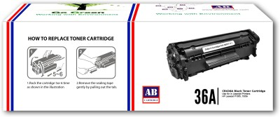 AB Cartridge Compatible 36A / CB436A Cartridge - For Use in HP LaserJet P1505, M1120n MFP, M1522n MFP, M1522nf MFP Black Toner