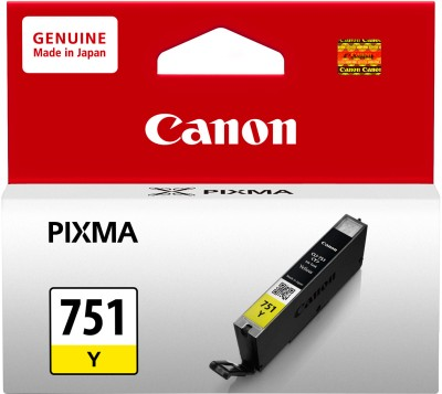 Canon CLI751Y Yellow Ink Catridge(Yellow)