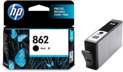 HP 862 Black Ink Cartridge(Black)