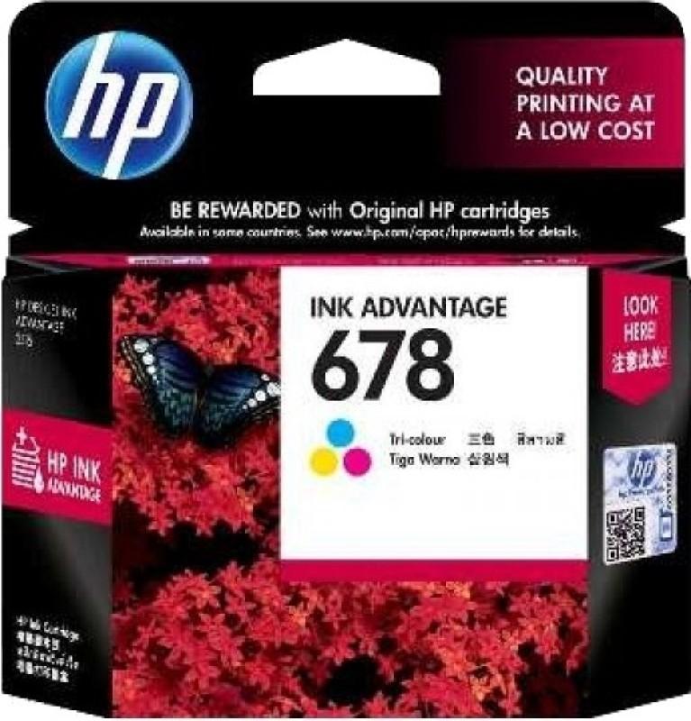 HP 678 Tri-color Ink Cartridge(Magenta, Cyan, Yellow)