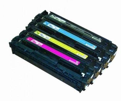 PRASH 131A / CF210A Cartridge - HP Compatible For Use In LaserJet Pro 200 Color M251 , M276 Multicolor Toner