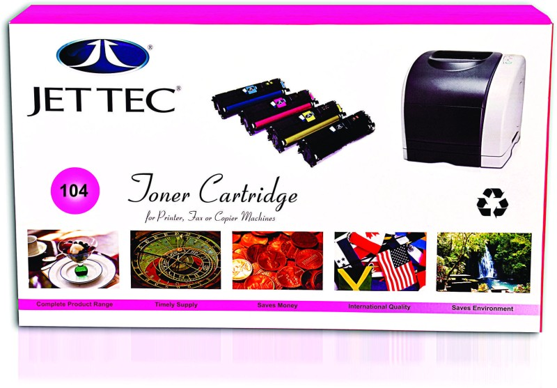 Jettec 104 Single Color Toner(Black)