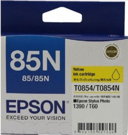 EPSON photo printer YELLOW Ink