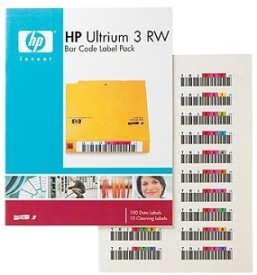 HP 3 RW Multicolor Bar Code Label Pack Cartridge
