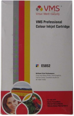 VMS E5852 Compatible Colour Inkjet Cartridge For Epson PM210/PM215/PM235/PM245/PM250/PM270/PM310 Prefilled Multicolor Ink