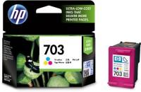 HP 703 Tri Color Ink Cartridge(Black, Magenta, Cyan, Yellow)