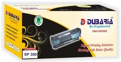 Dubaria Compatible For Ricoh Sp 300dn Series Cartridge Black Toner