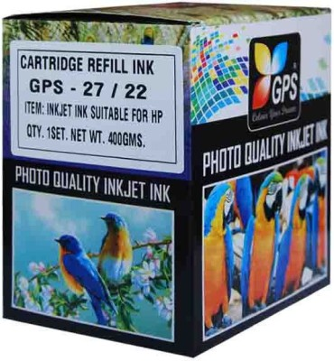 GPS Cartridge Refill Bottle Set For HP/Canon Multicolor Ink