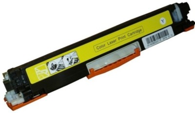Skrill CE312A Yellow Compatible Toner Cartridge FOR HP Color LaserJet Pro - M175 MFP, M175a MFP, M175nw MFP, M176 MFP, M275 MFP, M275nw MFP, M375nw MFP, M475dn MFP, CP1012, CP1020, CP1025, CP1025nw (126A) Yellow Toner
